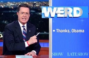 Stephen Colbert Late Show.