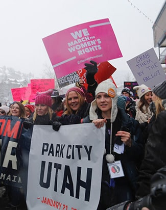 Sundance Womens March