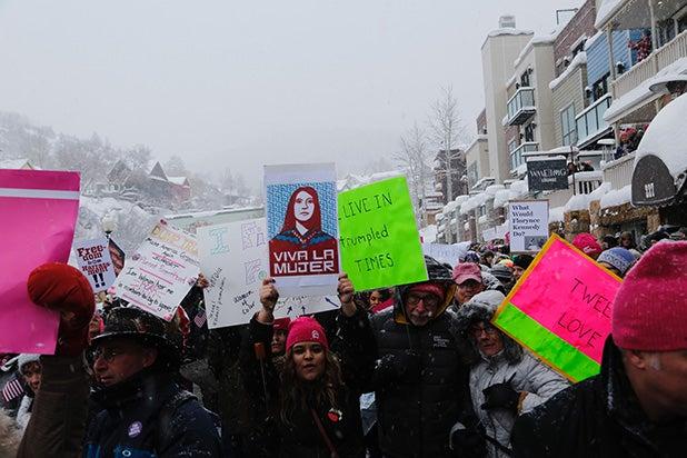 Sundance Womens March