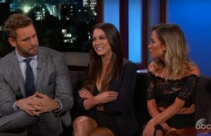 'Bachelor' Nick Viall Has Awkward Reunion With 'Bachelorette' Exes on Kimmel (Video)