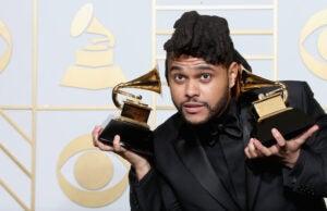 The Weeknd Grammys