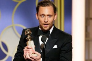 tom hiddleston Golden Globes