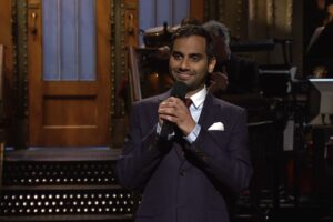 aziz ansari opening monologue saturday night live snl racism trump