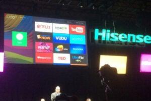 Ces hisense smart tv