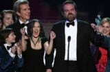 david harbour winona ryder stranger things sag awards speech donald trump racist