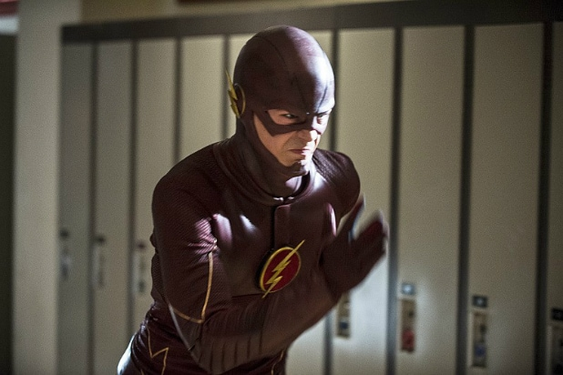 The Flash time travel show tv