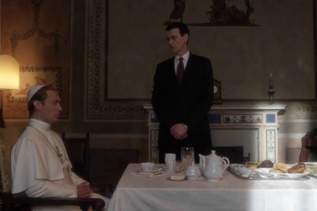 guy in the suit young pope hbo