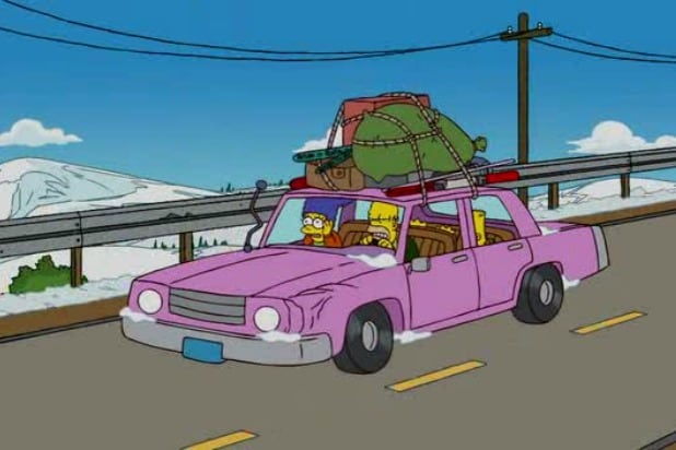 homer simpsons pink car