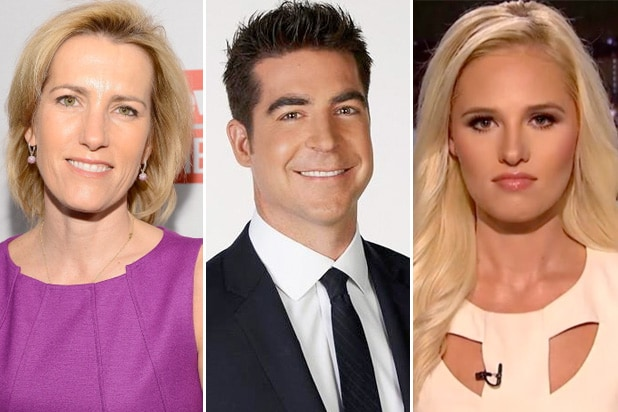 laura ingraham, jesse watters, tomi lahren, megyn kelly replacements