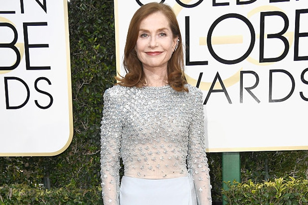 Isabelle Huppert Golden Globes