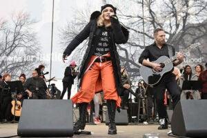madonna women's march
