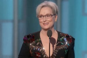 meryl streep golden globes donald trump
