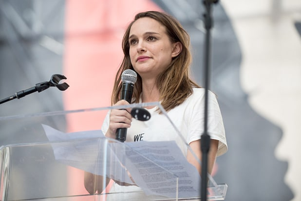 natalie portman women's march
