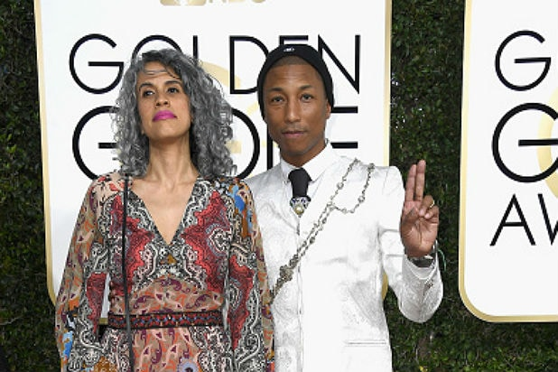 pharrell golden globes