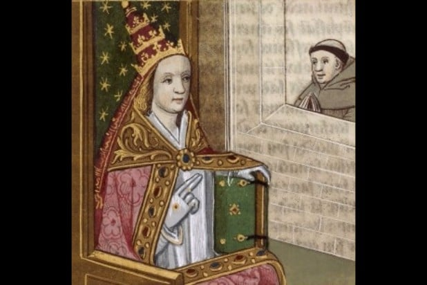 pope joan young pope