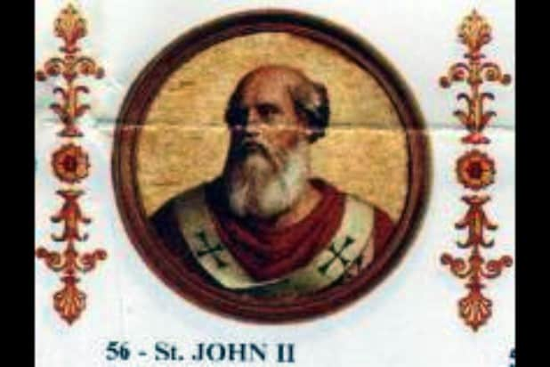 pope john ii young pope