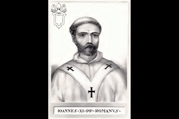 pope john xi young pope