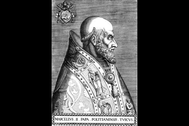 pope marcellus ii young pope