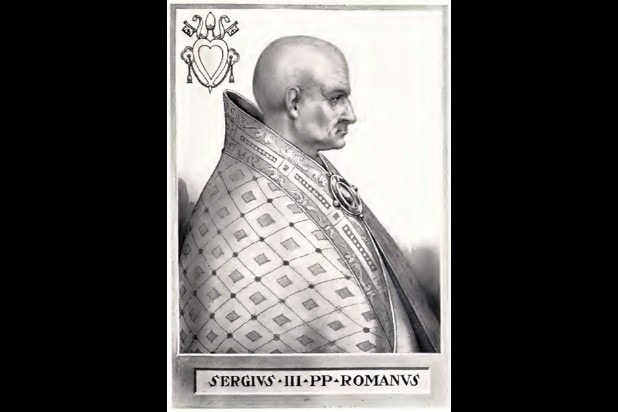 pope sergius iii young pope