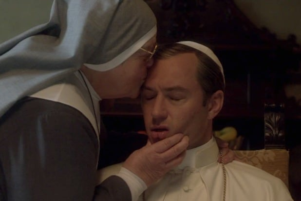 pope's cook young pope hbo
