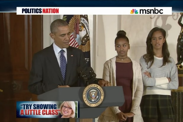 sasha malia obama barron trump