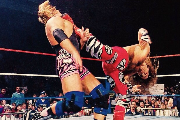 sweet chin music Shawn Michaels