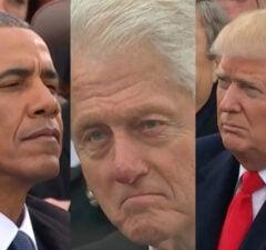 trump clinton obama
