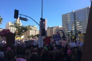 Los Angeles Women's March zero arrests