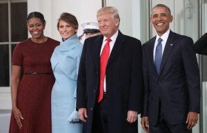donald trump barack obama white house inauguration