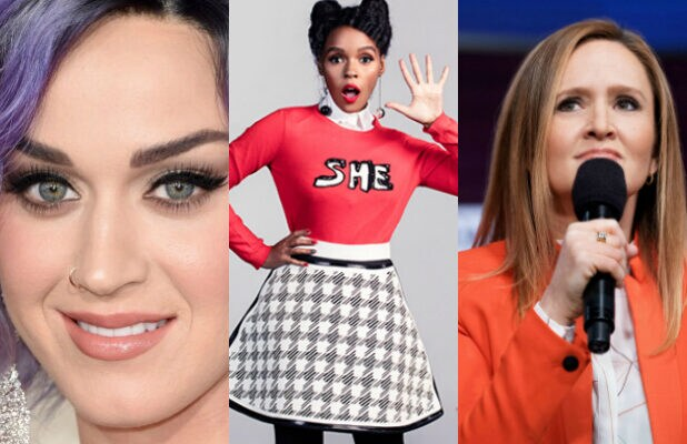womens march katy perry janelle monae samantha bee