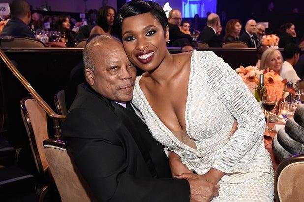 Quincy Jones, Jennifer Hudson