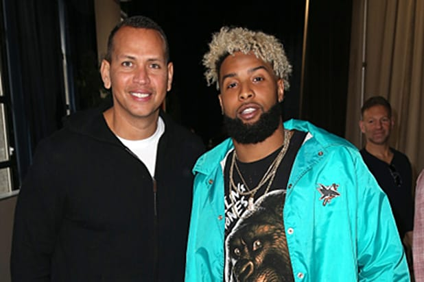 Alex Rodriguez and Odell Beckham Jr
