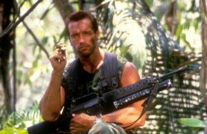 Arnold Schwarzenegger Dutch Schaefer The Predator Shane Black
