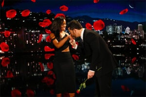 Bachelorette Rachel Lindsay on Jimmy Kimmel