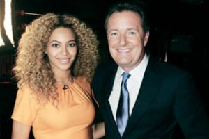 Beyonce and Piers Morgan