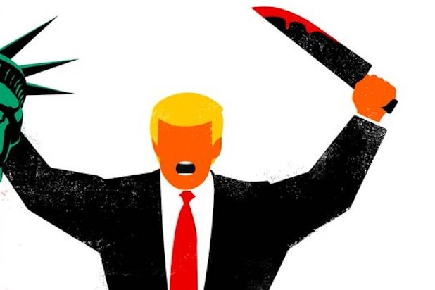 Donald Trump Beheads Lady Liberty On Der Spiegel Cover