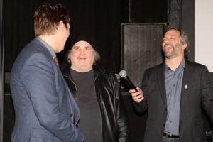 COVER - Artie Lange, Judd Apatow HBO Crashing