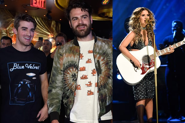 Chainsmokers and Maren Morris will be turning heads at multiple Grammy weekend events across L.A. (Wynn Nightlife, NBCUMV)