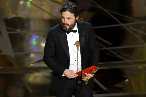Casey Affleck Best Actor