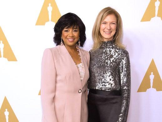 Academy President Cheryl Boone Isaacs and Academy CEO Dawn Hudson