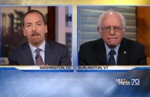 Chuck Todd Bernie Sanders Meet the Press