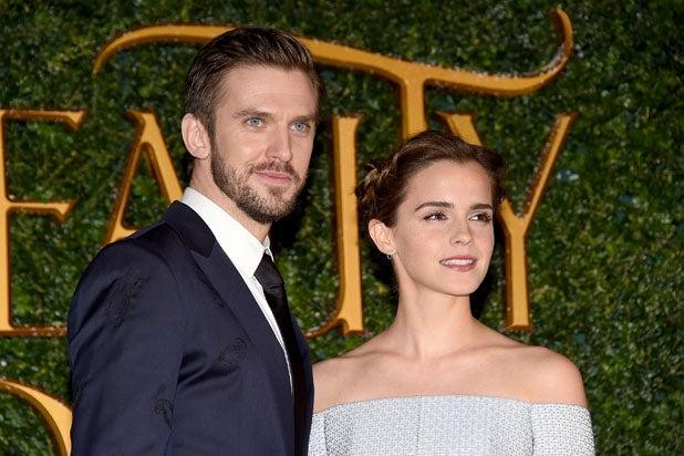 Emma Watson Dan Stevens Ooze With British Charm At Beauty