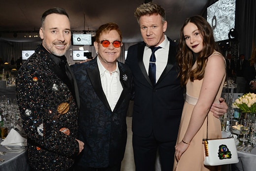 David-Furnish-Elton-John,-Gordon-Ramsay-and-Holly-Ramsay-Oscar-Party