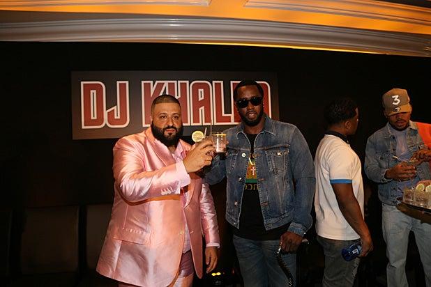 Diddy and DJ Khaled