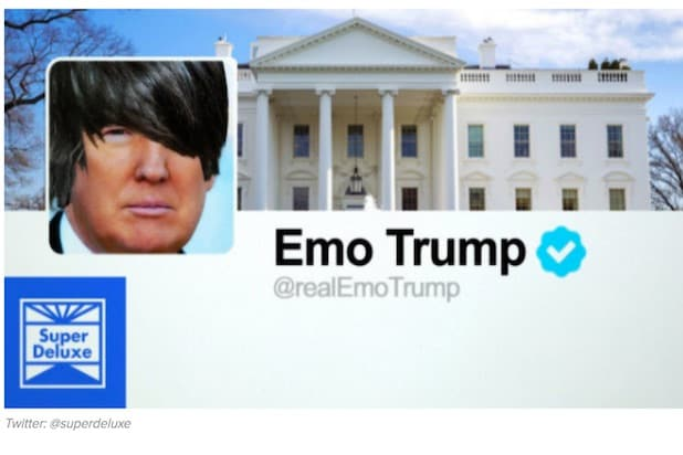 Donald Trump's Tweets Reimagined as An Early '00s Emo Song