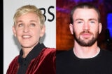 Ellen DeGeneres Chris Evans Transgender Bathroom Trump