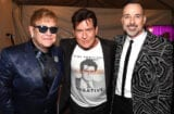 Elton John Charlie Sheen David Furnish