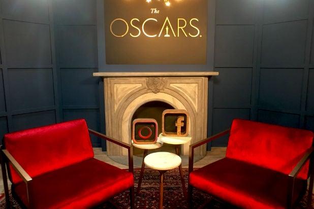 Facebook Oscars lounge