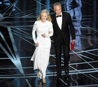 Faye Dunaway and Warren Beatty Oscars