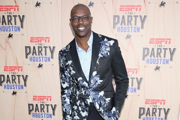Former NFL player Terrell Owens
